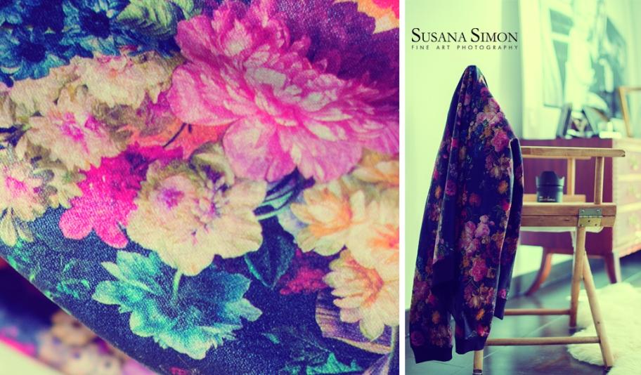 serie chaqueta flores