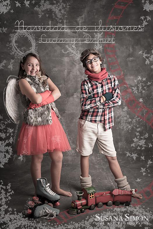 tarjeta Navidad 2015DAniel y Lucia